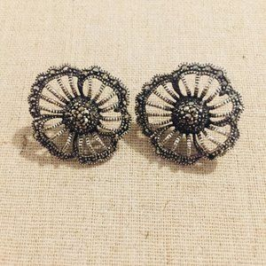 Floral Marcasite Earring from Lord & Taylor